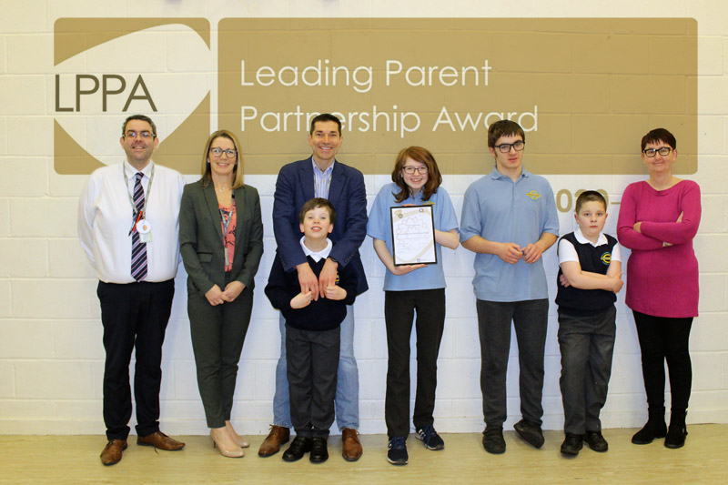 Leading Parent Partnership Award group