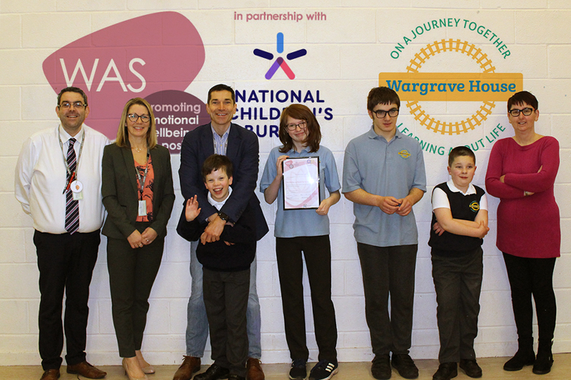 Wellbeing award for Wargrave House School and College