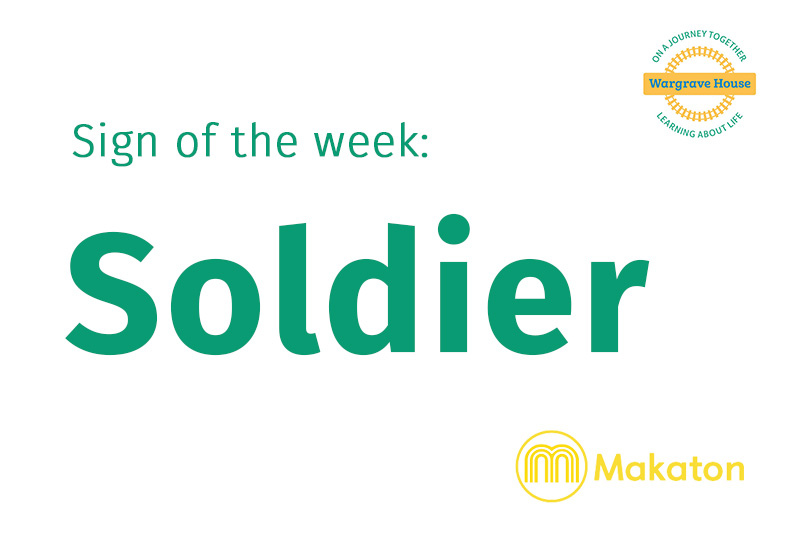 Sign of the week - Soldier