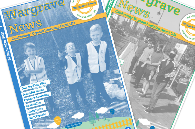Wargrave House School and College newsletter September 2021