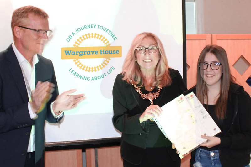ST Helens Mayor awards Wargrave House